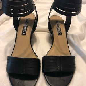 XOXO Shoes - Ankle strap sandals